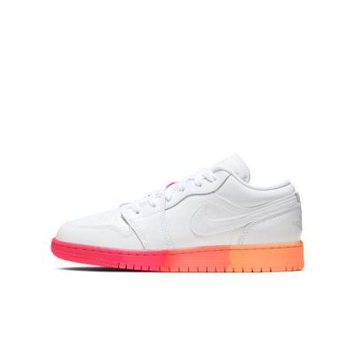 Air Jordan 1 Low Big Kids' (Girls') Shoe
