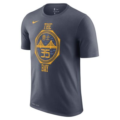 Kevin Durant Golden State Warriors City Edition Nike Dri-FIT 男款 NBA T 恤