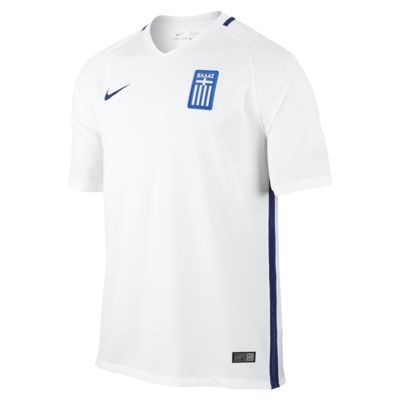 Camiseta de fútbol para hombre 2016 Greece Stadium Local/Visitante