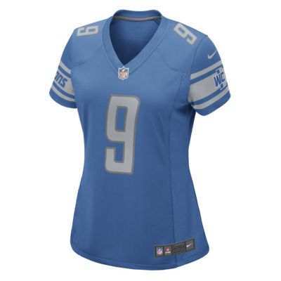 NFL Detroit Lions Game Jersey (Matthew Stafford) Women's Football Jersey