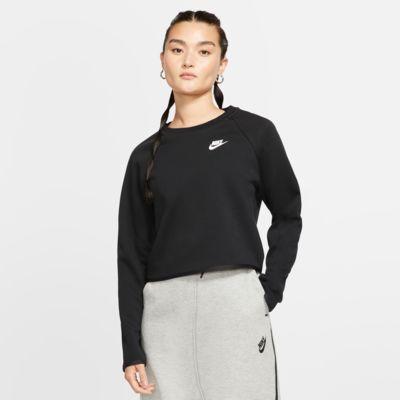 Tröja med rund hals Nike Sportswear Tech Fleece för kvinnor
