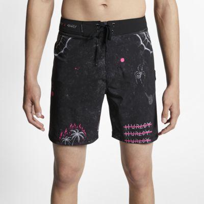 Shorts de playa de 46 cm para hombre Hurley Phantom Paranoid
