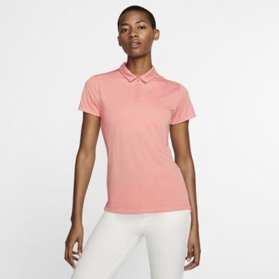 Nike Dri-FIT 女子高尔夫翻领T恤