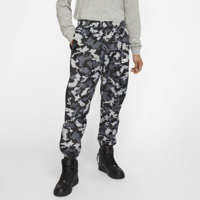 Vävda träningsbyxor Nike Sportswear med kamouflagemönster för män