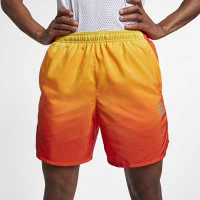 """Nike Challenger Men's 7"""" Lined Printed Running Shorts"""