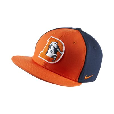 new arrival 434c2 db2a6 NIKE. NIKE ENERGY XC TRUE (NFL BRONCOS) ADJUSTABLE HAT.