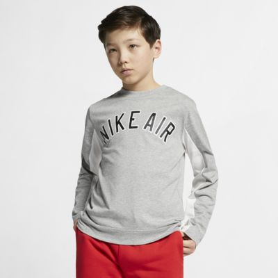 Nike Air Big Kids' (Boys') Long-Sleeve Top