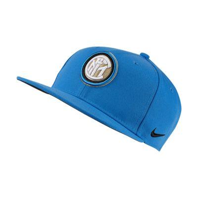 Regulowana czapka dla dużych dzieci Nike Pro Inter Milan