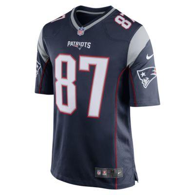 NFL New England Patriots (Rob Gronkowski) - hjemmebanefodboldtrøje til mænd