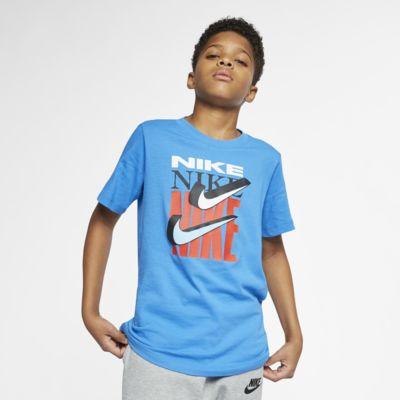ナイキ スポーツウェア ジュニア (ボーイズ) スウッシュ Tシャツ