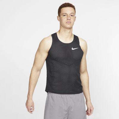 Camisola de running sem mangas Nike AeroSwift para homem