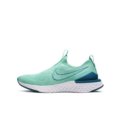 Nike Epic Phantom React Flyknit Big Kids' Running Shoe