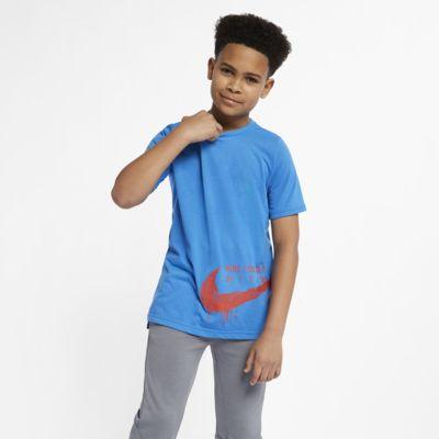 Nike Breathe Big Kids' Short-Sleeve Training Top