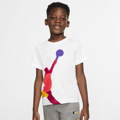 Κοντομάνικο T-Shirt Jordan Jumpman για μικρά παιδιά