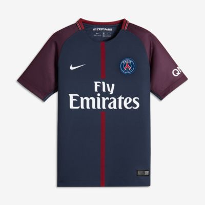 Купить Футбольное джерси для школьников 2017/18 Paris Saint-Germain Stadium Home