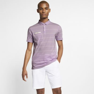 Polo de golf à rayures Nike Dri-FIT Player pour Homme
