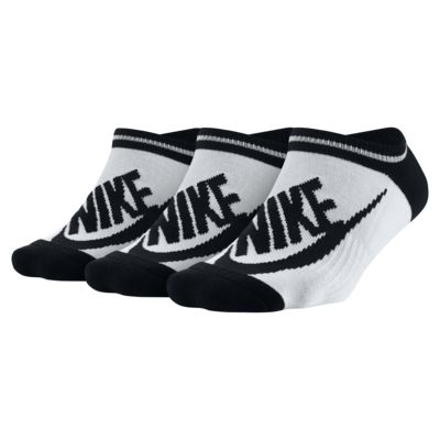 Nike Sportswear Striped No-Show Socks (3 Pair)