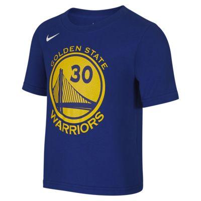 金州勇士队NBA 幼童T恤