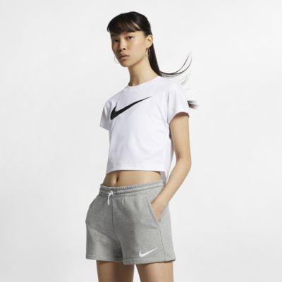 Nike Sportswear Swoosh kortermet magetopp til dame