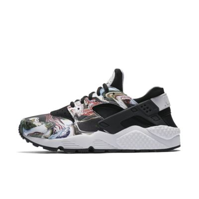 Latest Nike Air Huarache Premium Black Trainers for Women Sale Online