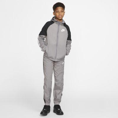 Conjunto de entrenamiento de tejido Woven para niño talla grande Nike Sportswear