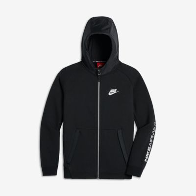 nike air max hoodie f r ltere kinder jungen ch. Black Bedroom Furniture Sets. Home Design Ideas