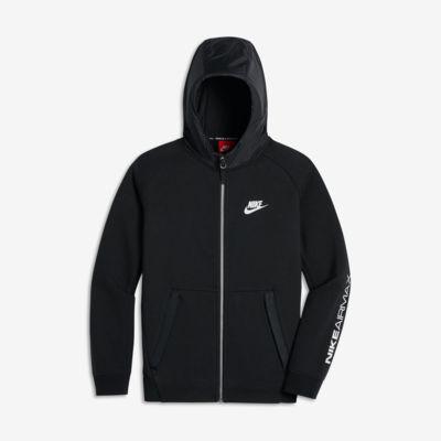 Sudadera con capucha para niños talla grande Nike Air Max