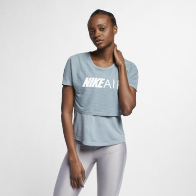 Dámský běžecký top Nike Air s grafickým motivem