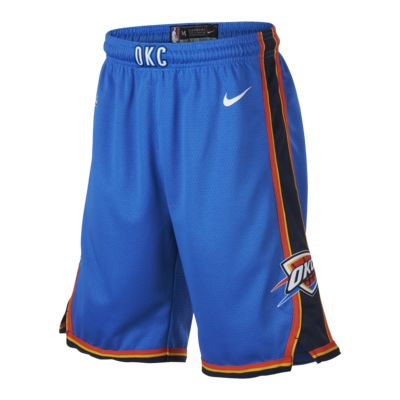 Oklahoma City Thunder Nike Icon Edition Swingman Big Kids' (Boys') NBA Shorts