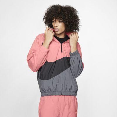 """Vævet Nike Sportswear """"Swoosh""""-vindjakke"""