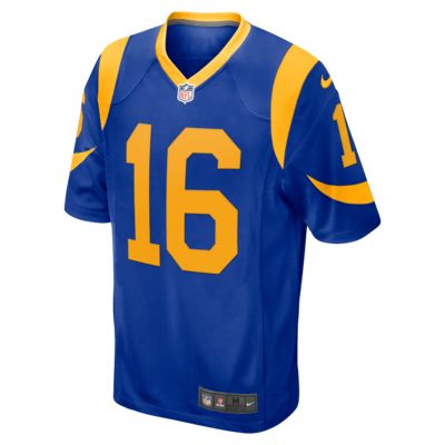 NFL Los Angeles Rams Game (Jared Goff) Men's Football Jersey