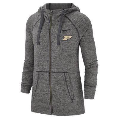 Nike College Gym Vintage (Purdue) Women's Full-Zip Hoodie