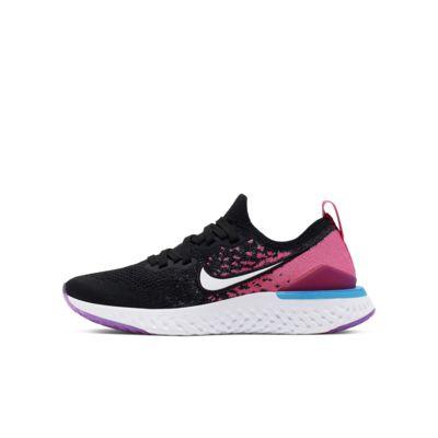รองเท้าวิ่งเด็กโต Nike Epic React Flyknit 2