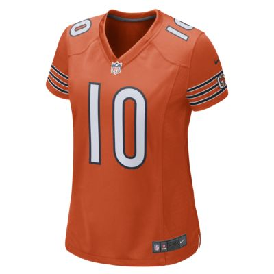 NFL Chicago Bears Game (Mitch Trubisky) Women's Football Jersey