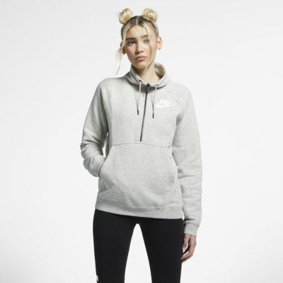Nike Sportswear Rally Women's Long-Sleeve 1/2-Zip Top