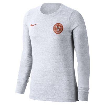 Nike College (Clemson) Women's Long-Sleeve T-Shirt