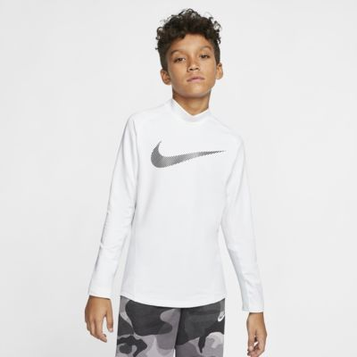 Nike Pro Therma Big Kids' (Boys') Long-Sleeve Mock-Neck Training Top