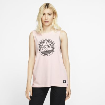 Купить Женская майка Hurley x Carhartt Biker, Розовое эхо, 24273659, 12820670