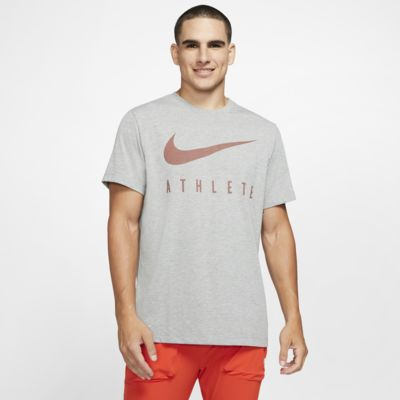 Nike Dri-FIT Swoosh-trænings-T-shirt til mænd