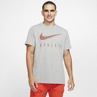 Męski T-shirt treningowy z logo Swoosh Nike Dri-FIT