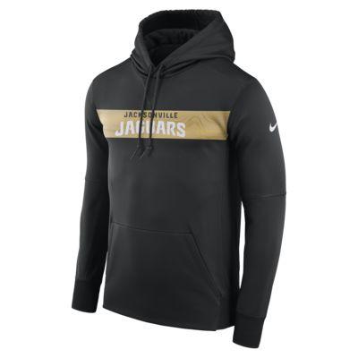 Nike Dri-FIT Therma (NFL Jaguars) férfi belebújós kapucnis pulóver