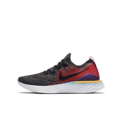 Nike Epic React Flyknit 2 Big Kids' Running Shoe
