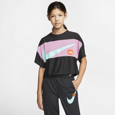 Nike Big Kids' (Girls') Short-Sleeve Training Top