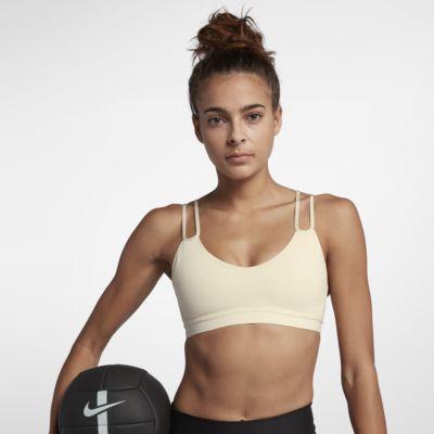 Nike Indy Sparkle Sport-bh met lichte ondersteuning