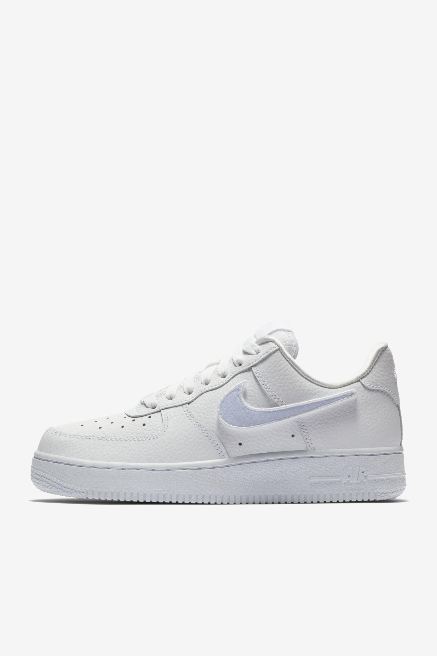 38af90e88a99f4 Nike Women s Air Force 1-100  Triple White  Release Date. Nike+ ...