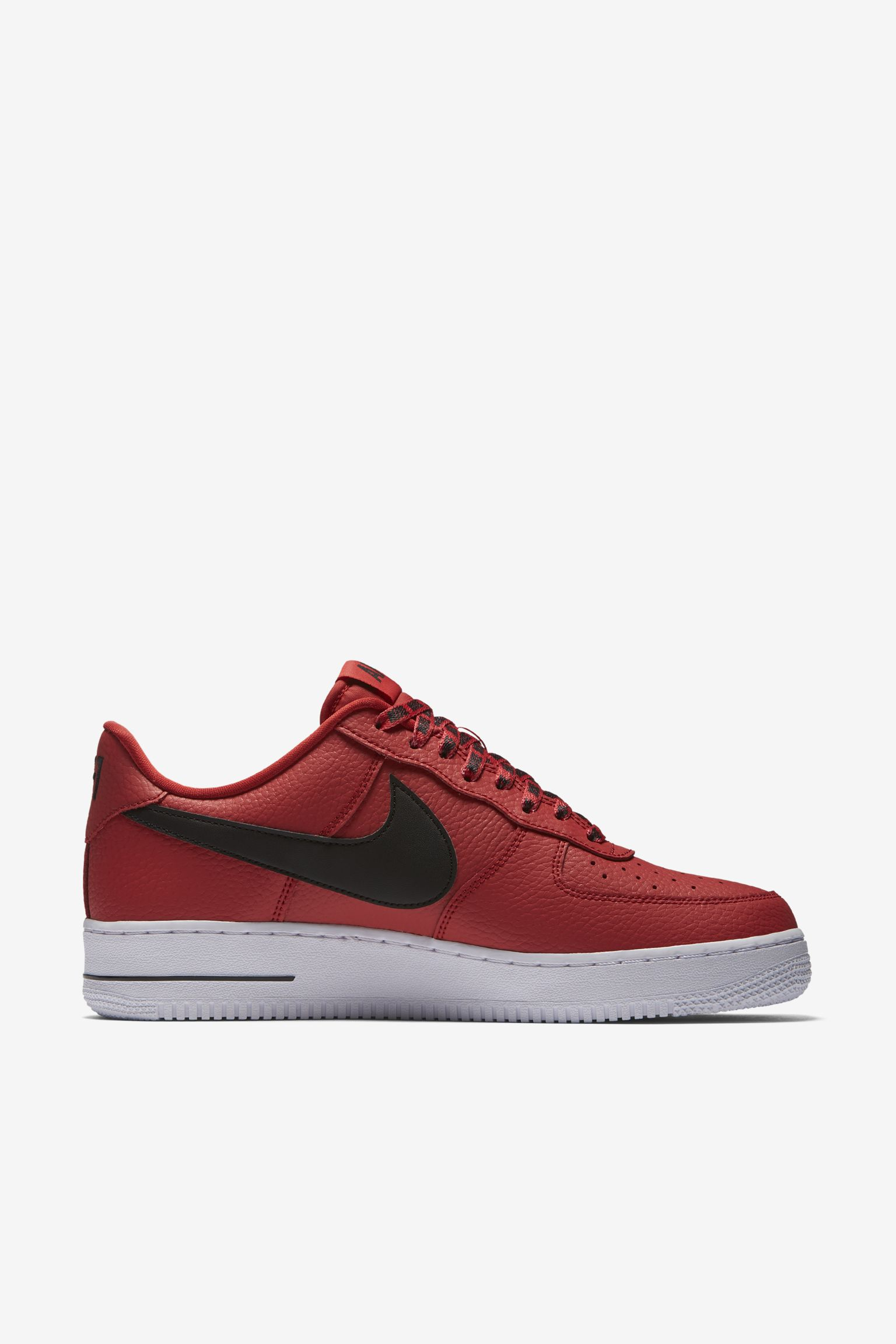 Nike Af 1 Low Nba University Red & Black & White