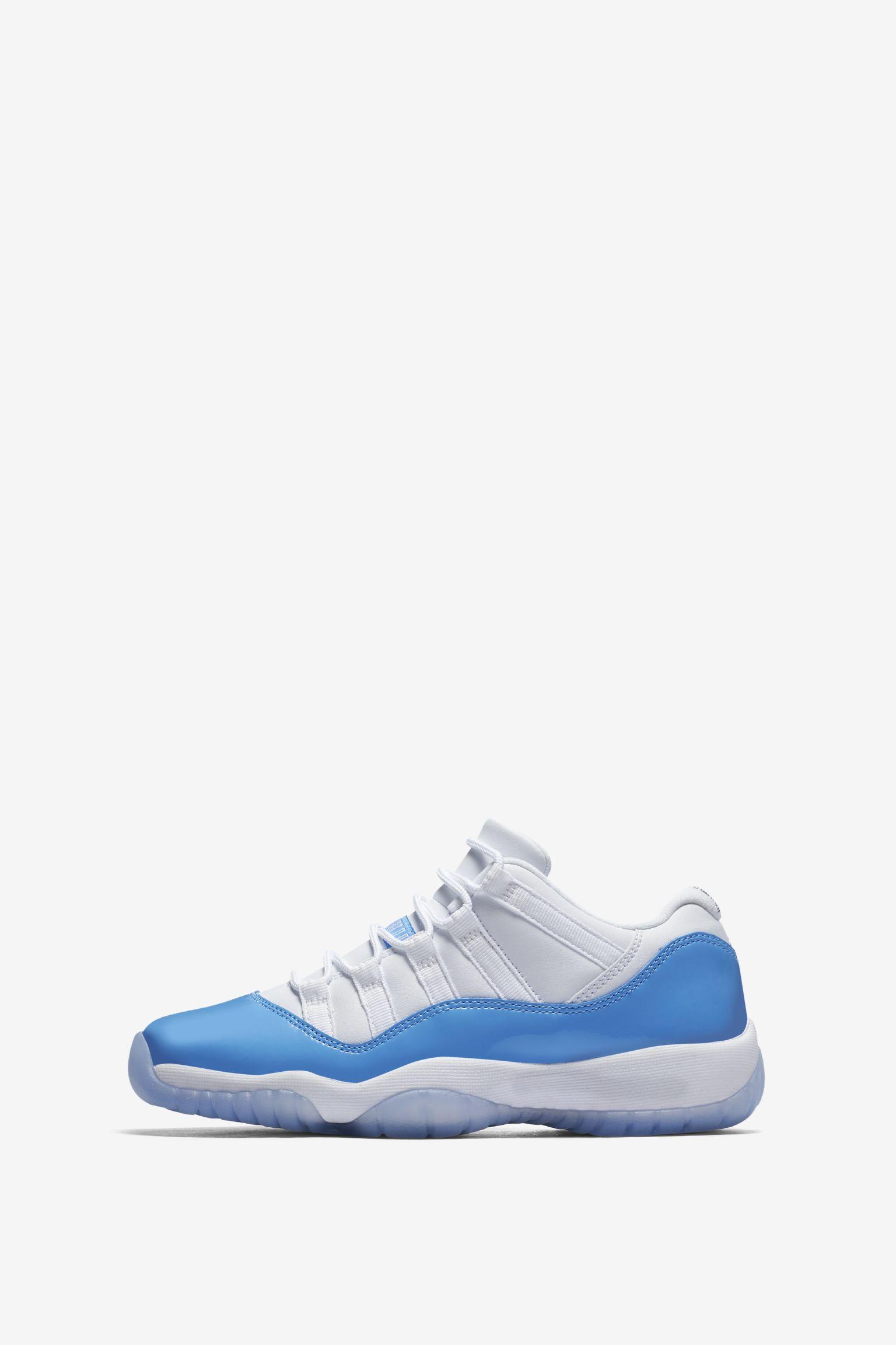 Air Jordan 11 Retro Low  White   University Blue . Nike+ SNKRS 76c447d8c0a3