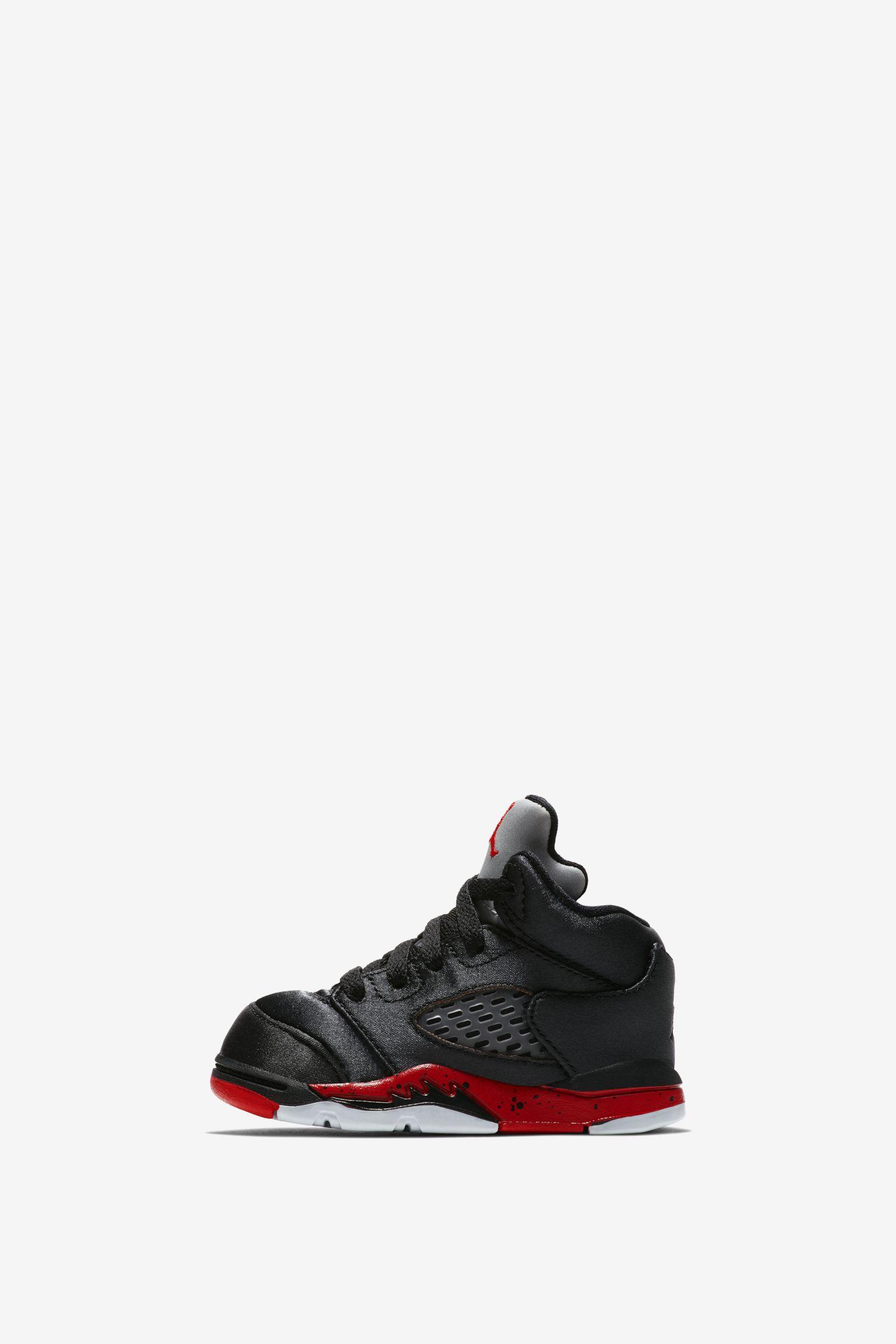 Air Jordan 5 'Black & University Red' Release Date