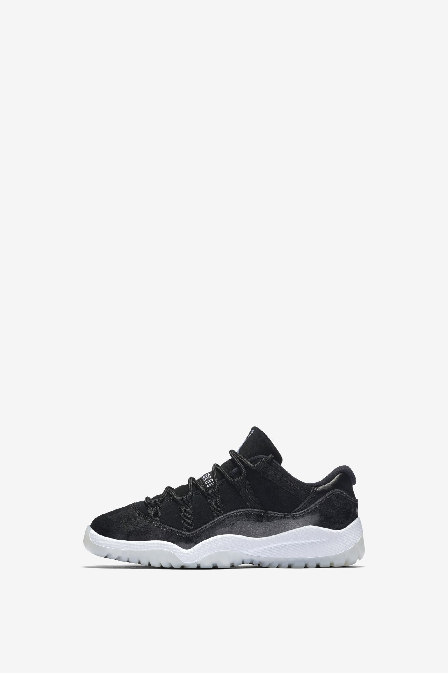 Air Jordan 11 Retro Low  Black   White  Release Date. Nike⁠+ SNKRS 09a2c3754