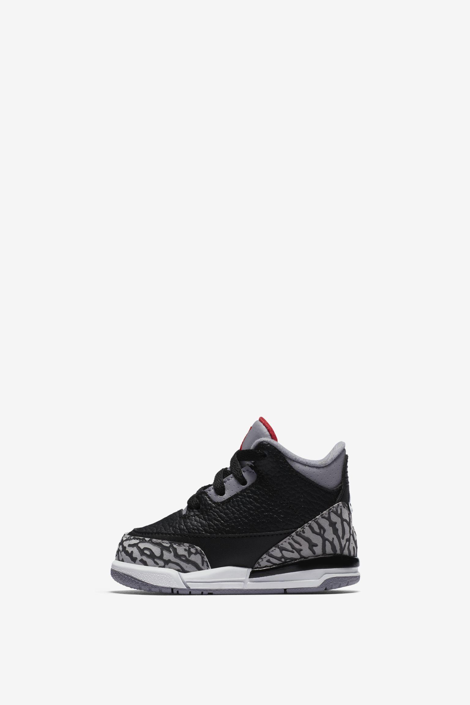 Air Jordan 3 Retro OG 'Black Cement' 2018 Release Date